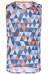 Castelli Pro Mesh - Sous-vêtement - orange/bleu